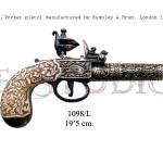 1098L Pocket pistol manufactured by Kumbley & Brum, London 1795 copy
