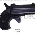 2 barrel Derringer pistol, caliber 41, USA 1866 copy