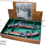 2 british dueling pistols, 18th. Century