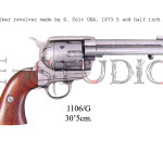 45 caliber revolver made by S. Colt USA, 1873 5 and half inch barrel