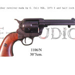 45 caliber revolver made by S. Colt USA, 1873 5 and half inch barrel b