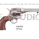45 caliber revolver made by S. Colt USA, 1873 5 and half inch barrel c