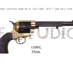 45 caliber revolver made by S. Colt USA, 1873 7 and half inch barrel b b