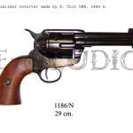 45 caliber revolver made by S. Colt USA, 1873 bl