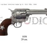 45 caliber revolver made by S. Colt USA, 1886