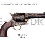 45 caliber revolver made by S. Colt USA, 1886 b