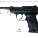 Automatic military gun Walter P.38, Germany (II World War)