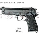 Beretta pistol 92 F.9 mm, parabellum