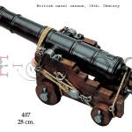 British naval cannon, 18th. Century