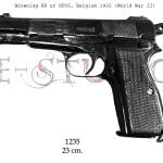 Browning HP or GP35, Belgium 1935 (World War II) copy