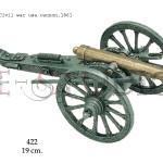 Civil War USA cannon, 1861 copy