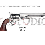 Civil War USA revolver manufactured by S. Colt, 1886