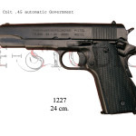 Colt .45 automatic Government
