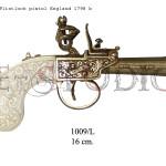 Flintlock pistol, England 1798 b copy