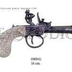 Flintlock pistol, England 1798 copy
