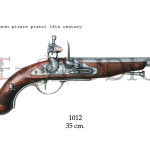 French pirate pistol, 18th. Century