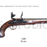 General Washington's british pistol, 18th. Century