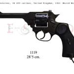 Mk 4 revolver, 38 200 caliber, United Kingdom, 1923 (World War II) copy