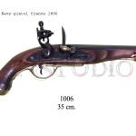 Navy pistol, France 1806 copy