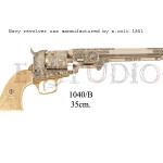 Navy revolver USA manufactured by S. Colt, 1851