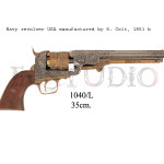 Navy revolver USA manufactured by S. Colt, 1851 b
