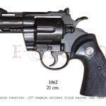 Phyton revolver .357 Magnum caliber, 2 inch barrel, USA 1955