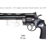 Phyton revolver .357 Magnum caliber, 6 inch barrel, USA 1955