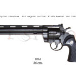 Phyton revolver .357 Magnum caliber, 8 inch barrel, USA 1955