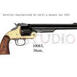Revolver manufactured by Smith & Wesson USA, 1869 copy