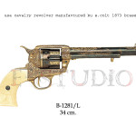 USA cavalry revolver manufactured by S. Colt, 1873 b