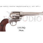 USA cavalry revolver manufactured by S. Colt, 1873 c