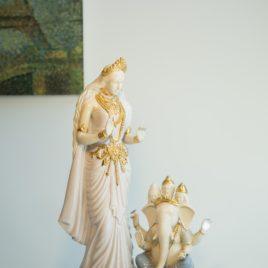 Parvati Blessing Ganesh