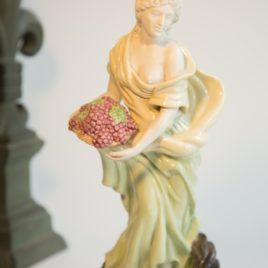 Porcelain Lady Statue