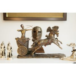 Ancient Egyptian Chariot Racing Statue
