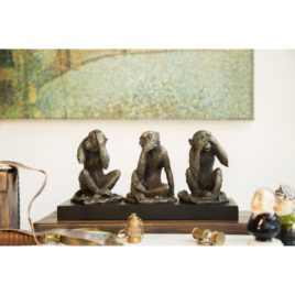 Three Wise Monkeys Statue
