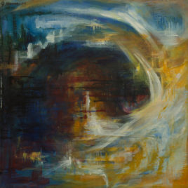 Abstract Art on Canvas 4
