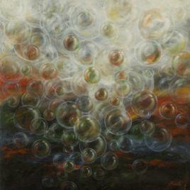 Bubbles Painting On Canvas